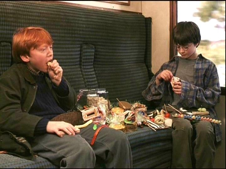 Ron and Harry - Harry Potter and the Philosopher's Stone