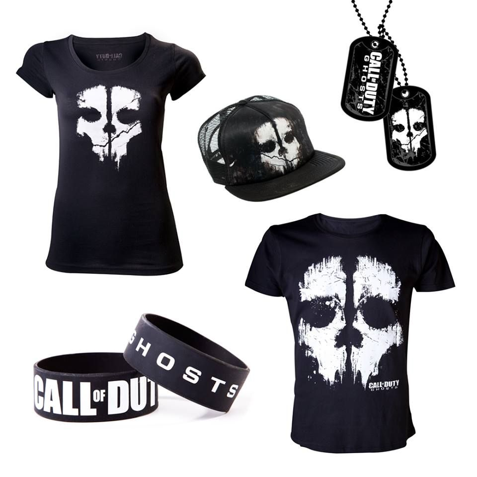 Call of Duty Ghosts merchandise | my kind of style | Pinterest ...