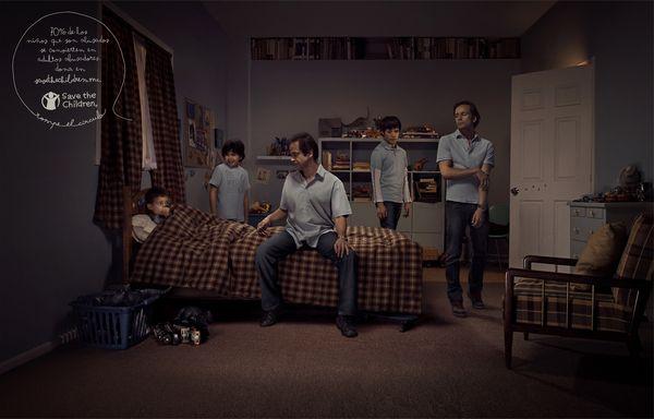Save The Children by Francisco Ferro, via Behance