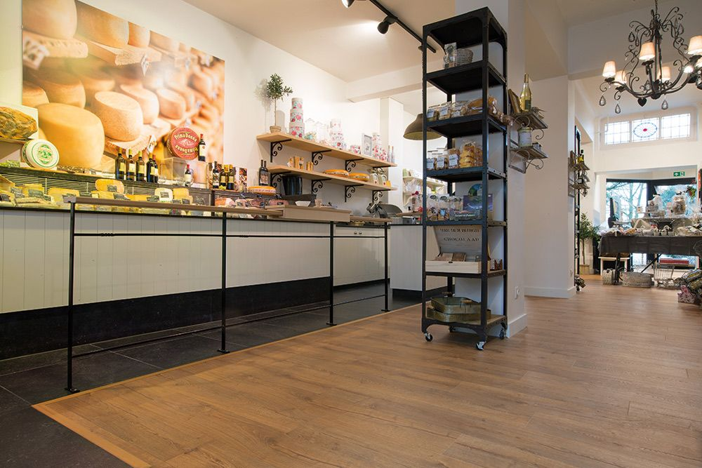 Laminate Flooring At Belgian De Terrine Delicatessen Innovations