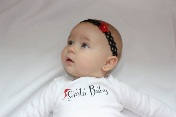 Santa Baby Holiday Onesie by Babyimage on Etsy, $11.00