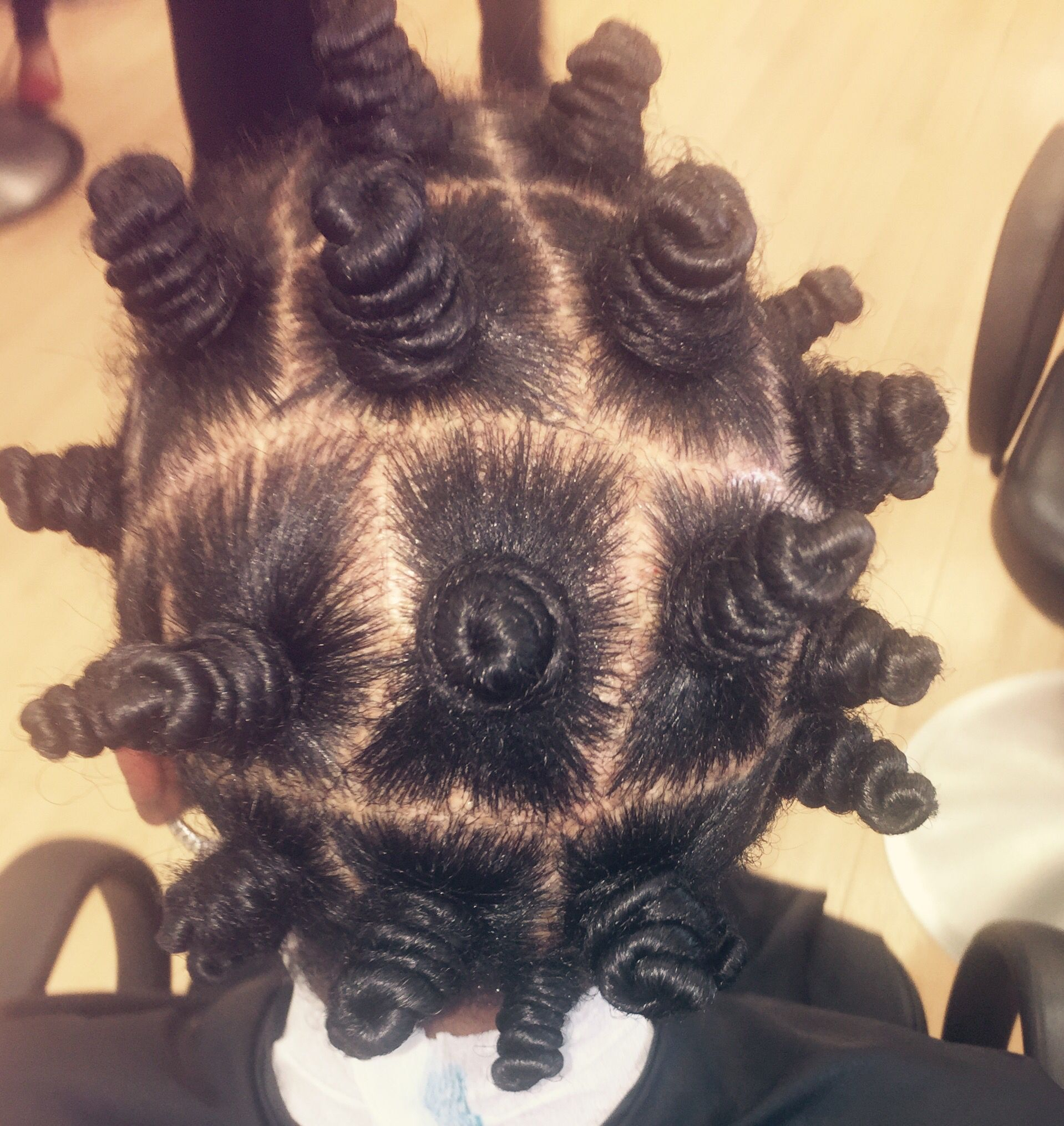 Cork screws black hair pinterest bantu knots flat twist