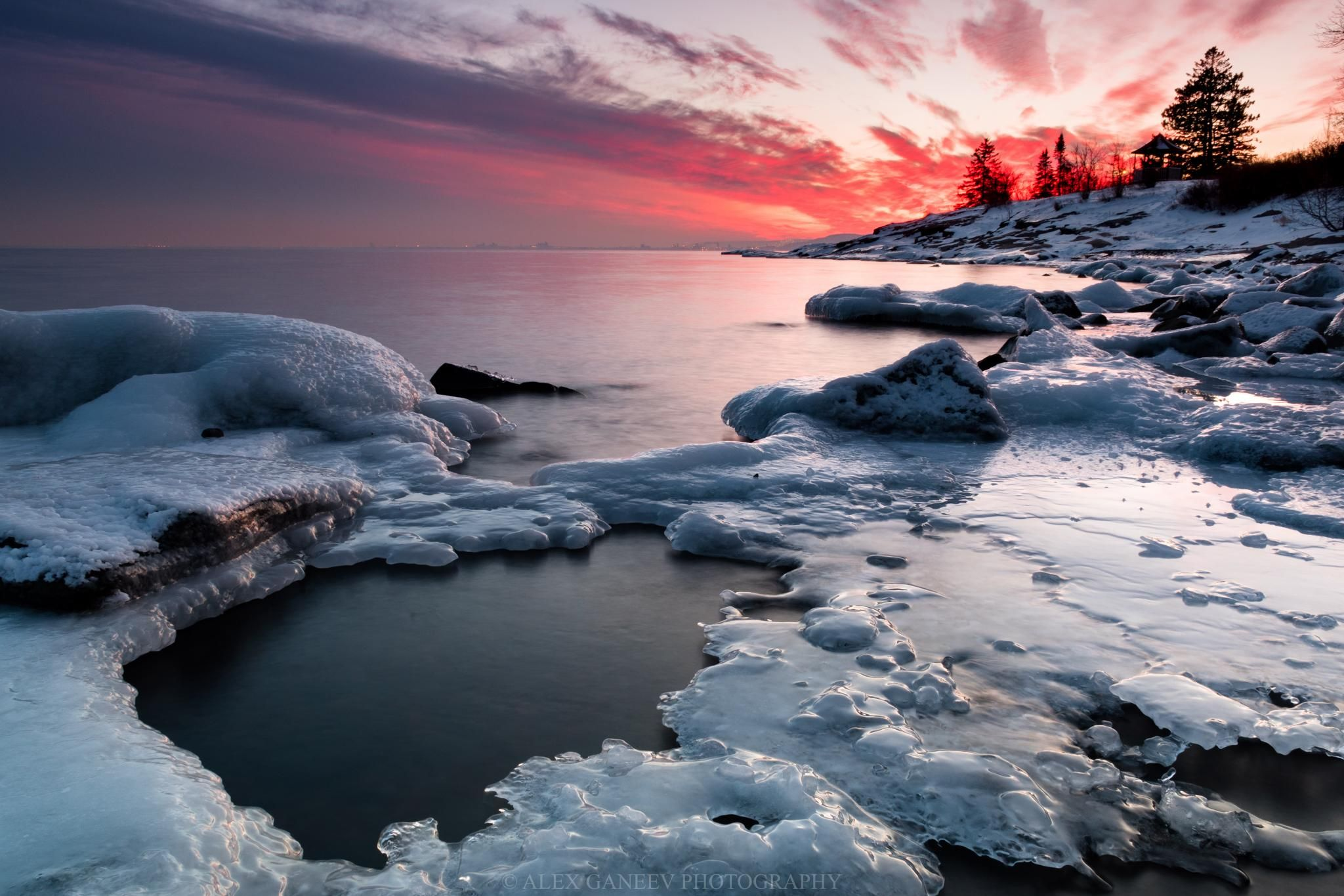 A Song Of Ice And Fire Duluth Minnesota Sunset At Brighton Beach 5798 Winter Landscape Photography Winter Photography Nature Beautiful Photography Nature