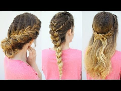 3 French Braid Hairstyles Back To School Hairstyles