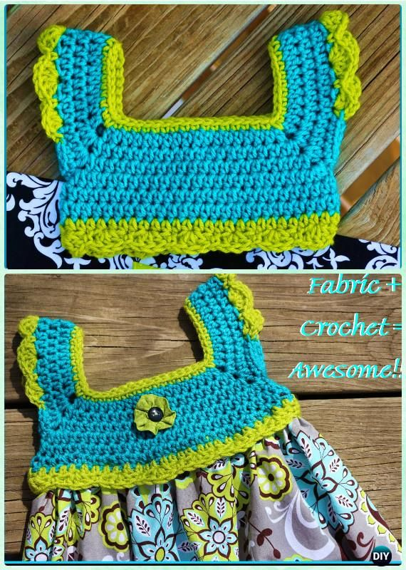 Crochet Double Stitch Tutu Dress Free Pattern Instructions-Crochet ...
