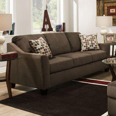 simmons upholstery cicero queen sleeper reviews wayfair house rh pinterest com