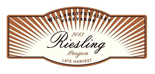 2013 Willamette Valley Vineyards Late Harvest Riesling 375 mL  The 2013 vintage was marked by a particularly cold and wet spring, resulting in a low fruit set. Spring was followed by an idyllic long, warm and dry summer that produced grapes of exceptional flavor development and ripeness. Rain came late in the season and created two ranges of quality in the vintage. Prior to the rain the fruit was bright and acidic. After the rain the fruit was more highly evolved with added sweetness..