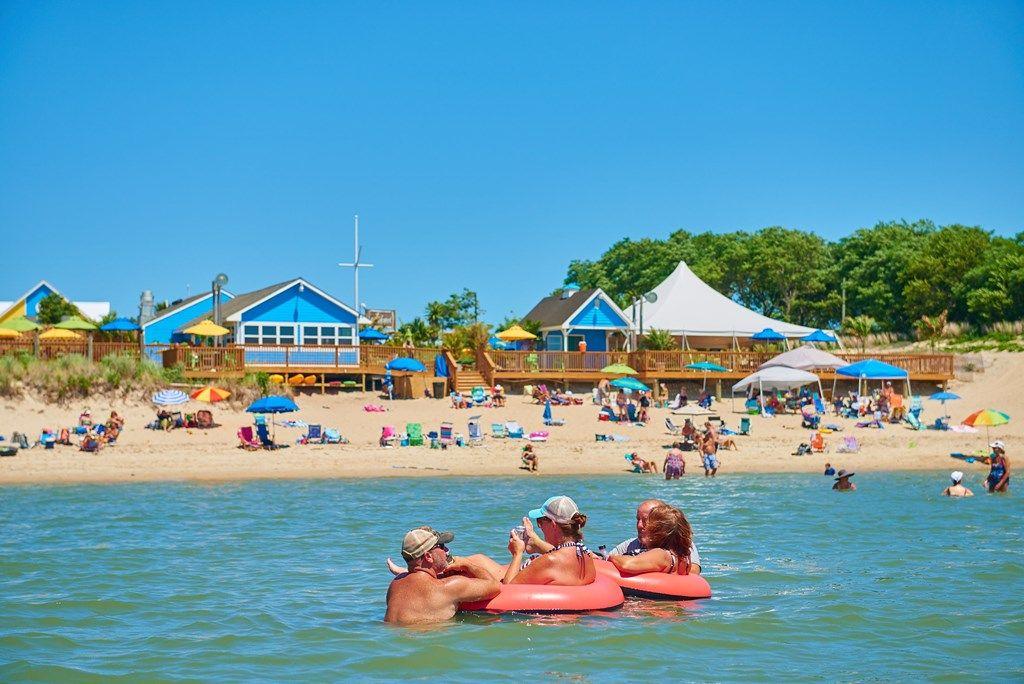 Cape charles chesapeake bay koa sunset beach resort