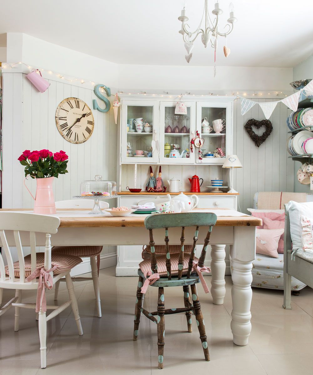 Shabby Chic Dining Room Ideas