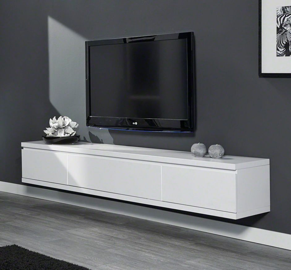 Zwevend Tv Meubel Cameron 200cm - Mat Wit | Meubels, Grijze meubelen, Thuis  woonkamer