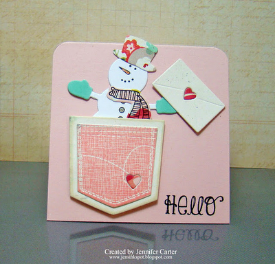 My card on the WPlus9 blog!