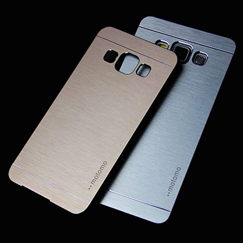 For Samsung A3 2016 Motomo Luxury Aluminum Metal Brush Plastic Case For Samsung Galaxy A3 2016 Phone Cases For Galaxy A3 A5 Phone Samsung Galaxy A3 Phone Cases