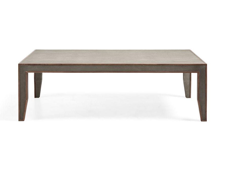 Sebastian Shagreen Coffee Table Arhaus Furniture Furniture Shagreen Coffee Table Arhaus Furniture