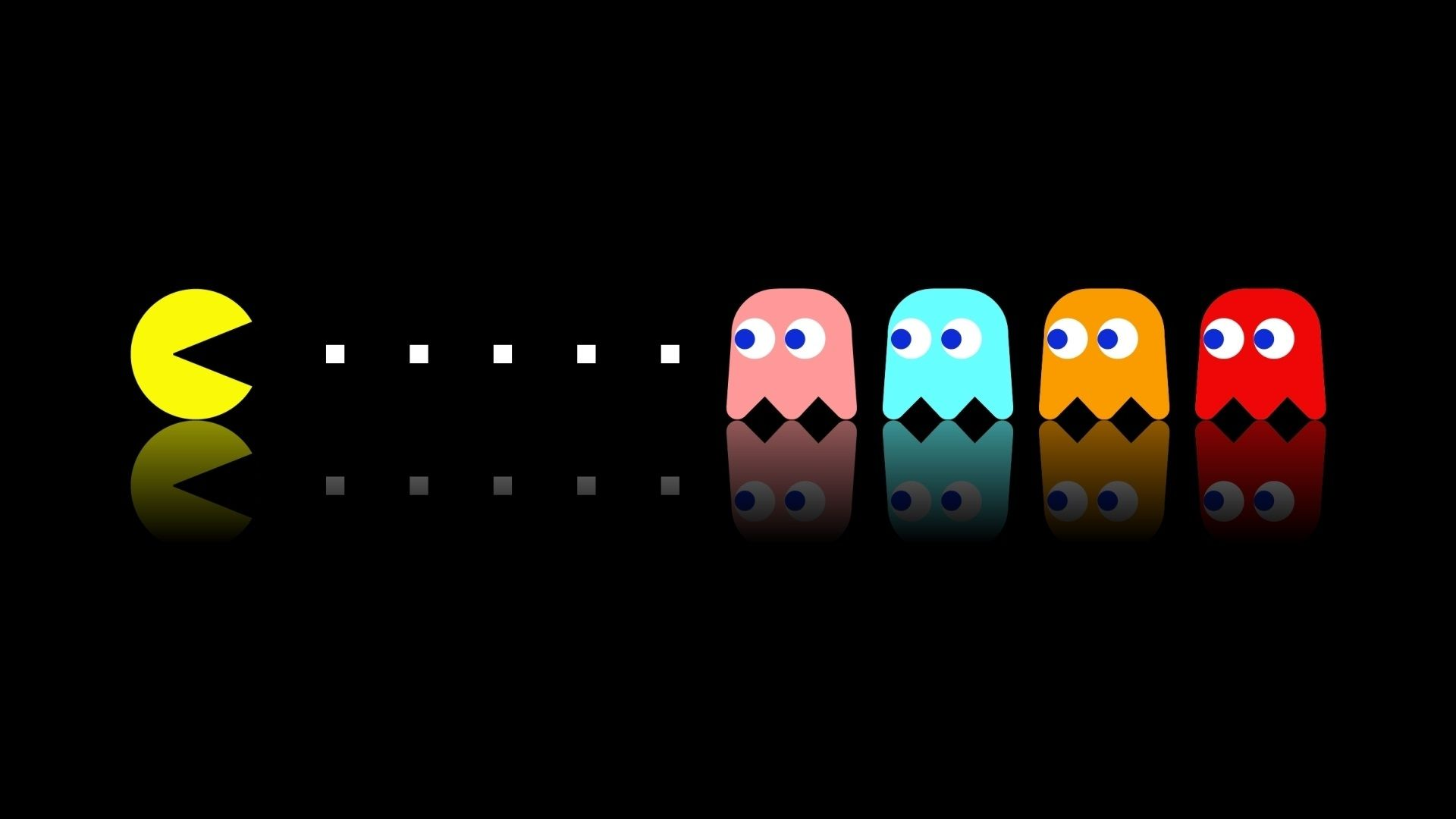 Pacman Wallpaper 1920x1080 In 2019 Gaming Wallpapers