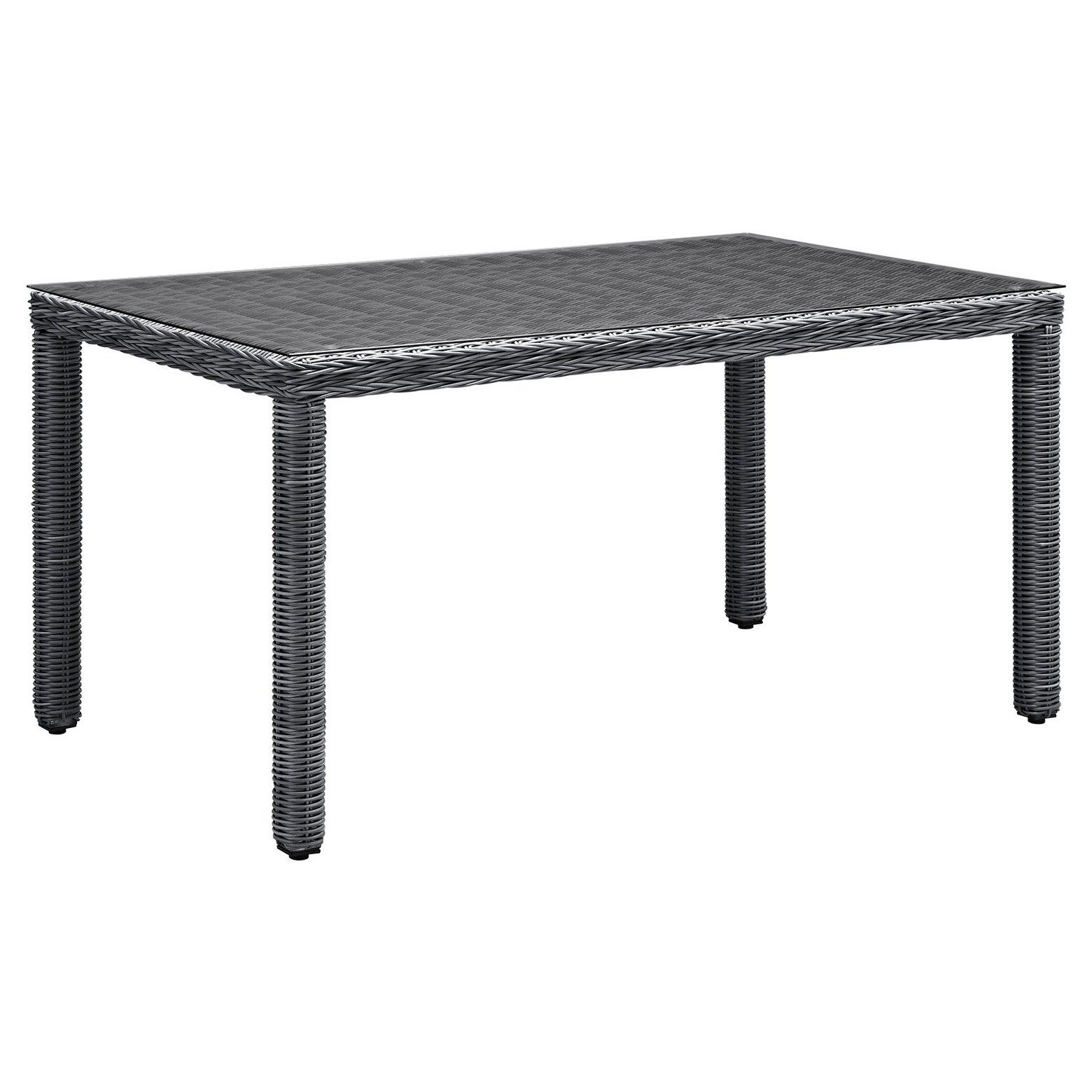 Modway Summon Rectangular Outdoor Patio Dining Table