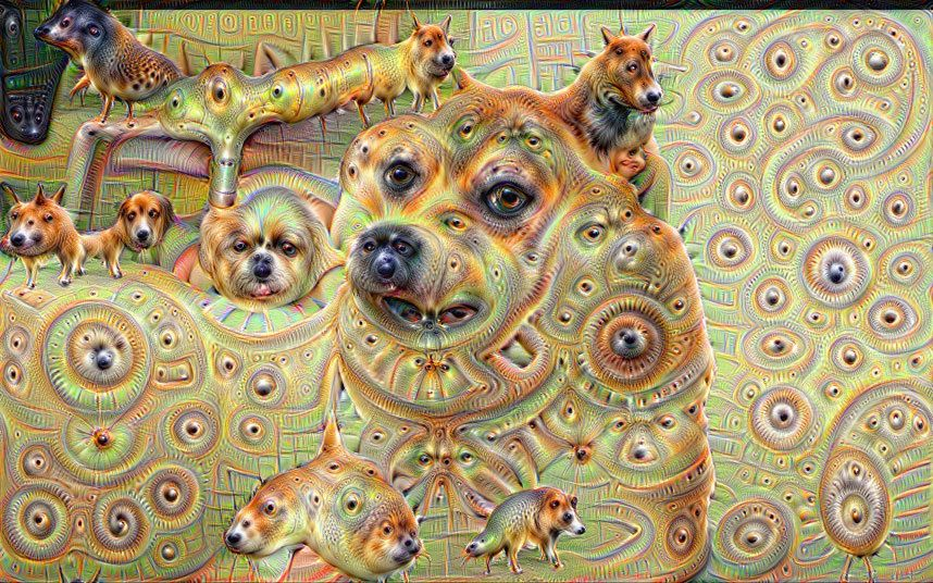 Deep Dream hund
