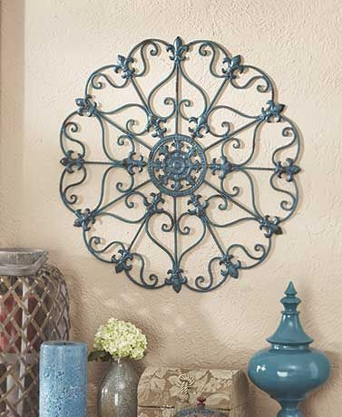 Page Not Found Wall Medallion Iron Wall Art Metal Wall Medallion
