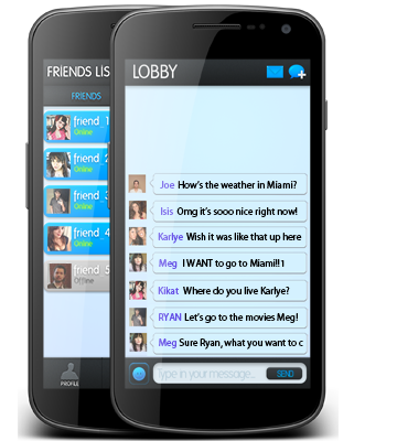 Free mobile chat room chat room use in mobile, if you are