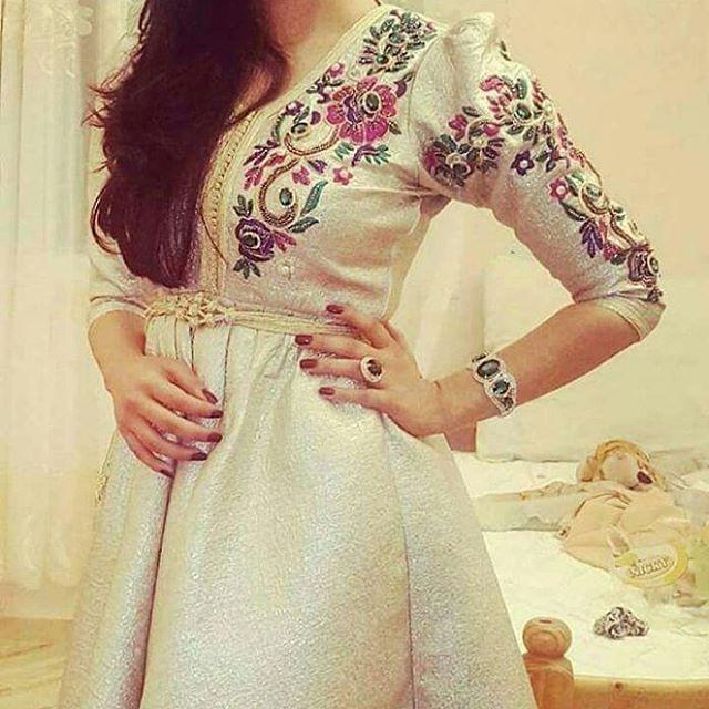 Instagram Photo By جلابيات أروى Jun 27 2016 At 8 58am Utc Moroccan Fashion Moroccan Dress Caftan