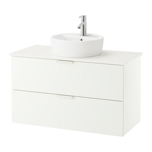 GODMORGON/ALDERN / TÖRNVIKEN Mobile/lavabo 45/piano bagno IKEA ...