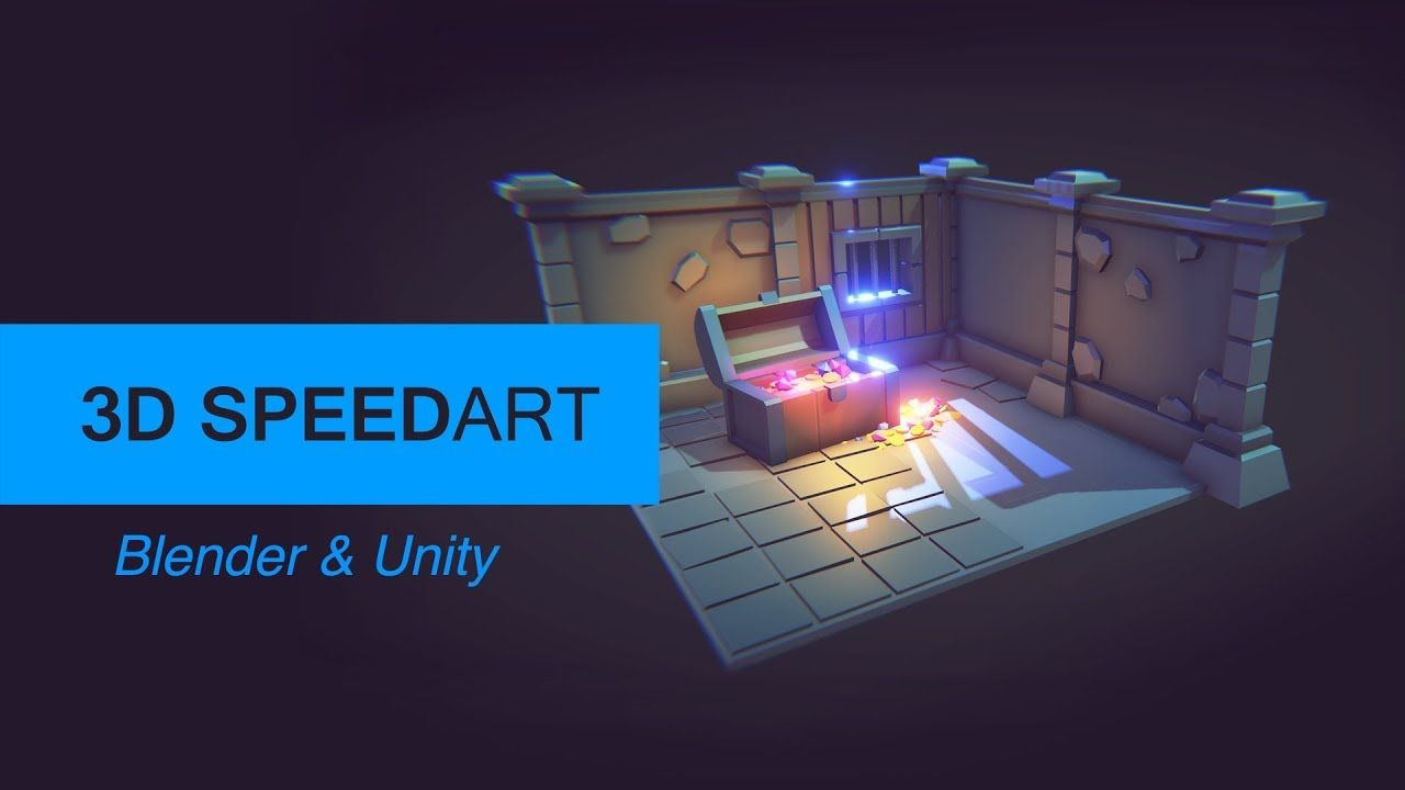 [Speedart] Modeling low poly game assets Modular
