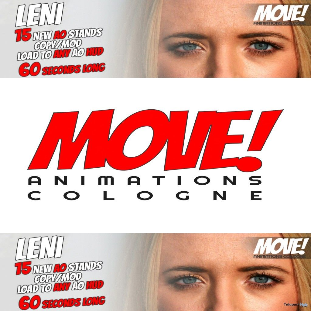 New Release: LENI Stands AO by MOVE! Animations Cologne