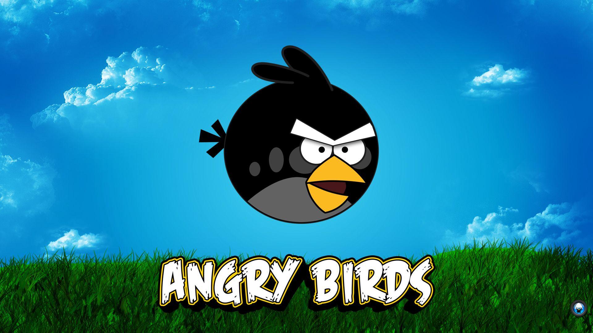 Angry Birds - Black version wallpaper 1920x1080 (1 ...
