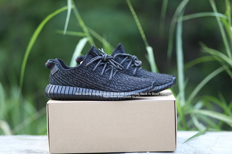 2cd430f4 Best Quality Adidas Yeezy Boost 350 Low Pirate Black In Stock Version