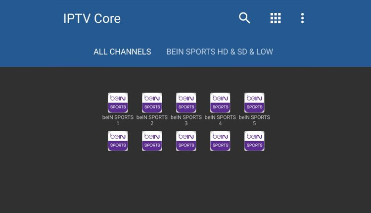 Update To Relax Iptv V3 To Follow The Channels Encrypted On Your