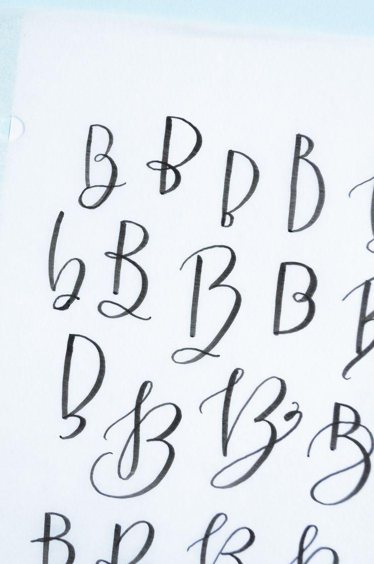 50 Ways To Draw A B