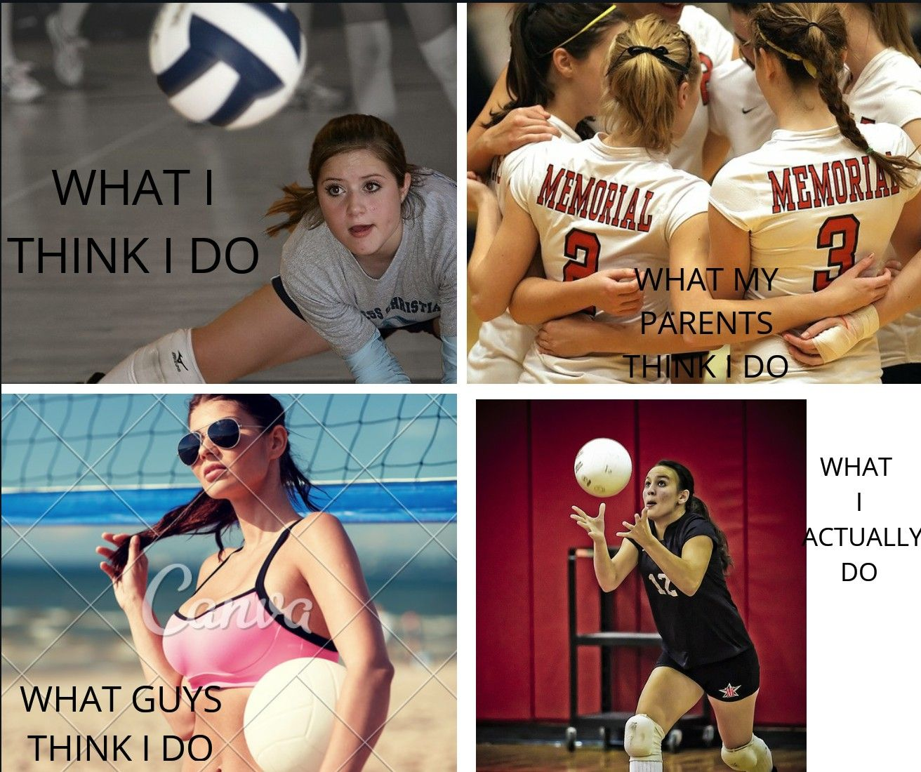 Original By Weavly Created By Canva Volleyball Inspiration Volleyball Memes Coaching Volleyball