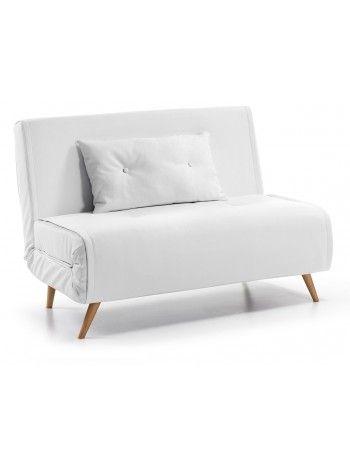 TULIPANO poltrona divano letto da 100 cm in ecopelle