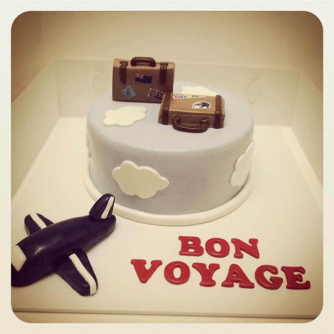 I can write welcome home instead | cakes | Pinterest | Bon voyage ...