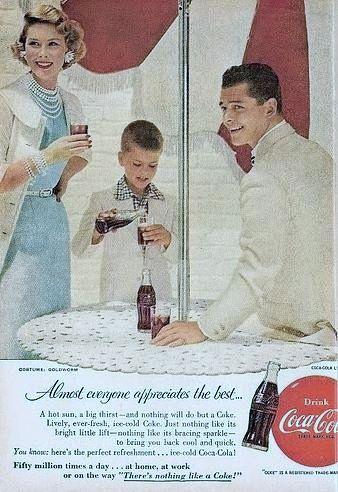 1955 Coca Cola ad