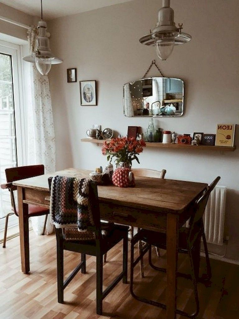 55 Stunning Small Dining Room Table Furniture Ideas Diningroomideas Diningroomdecorating Dining Dining Room Small Small Dining Room Table Tiny Dining Rooms