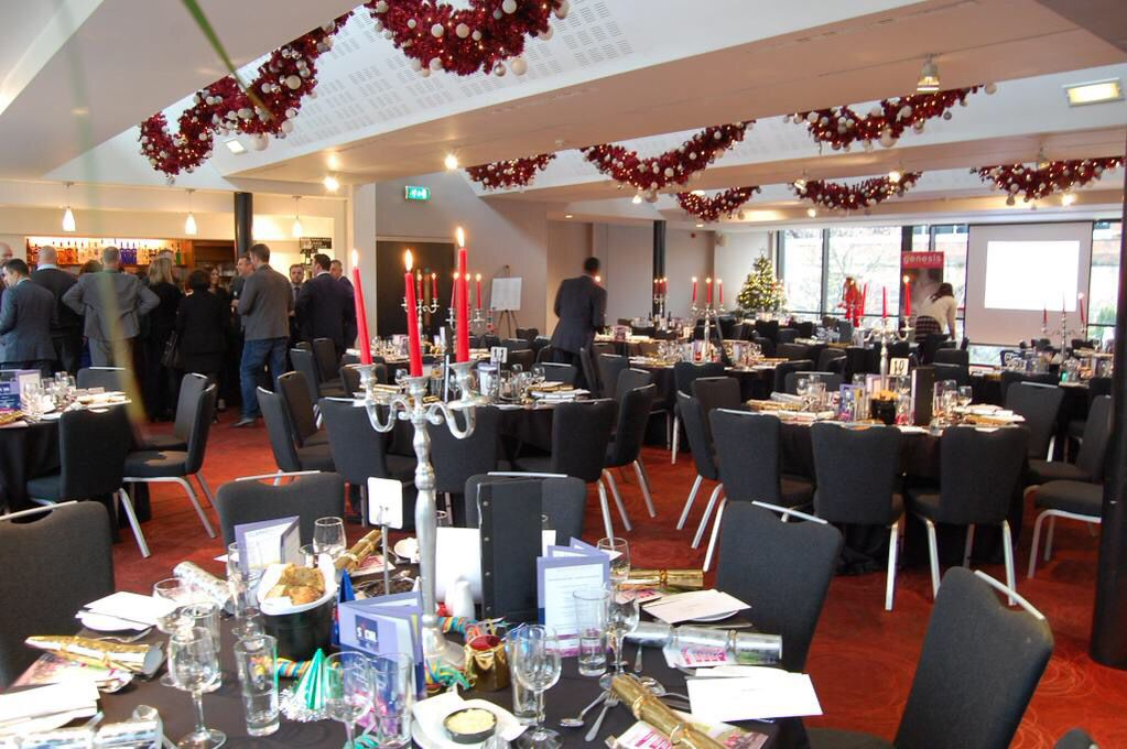 Christmas lunches in our event spaces #thecastlefieldrooms