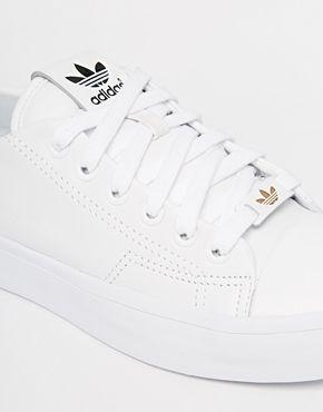Enlarge Adidas Originals Honey 2.0 White Trainers 0f2060f4b