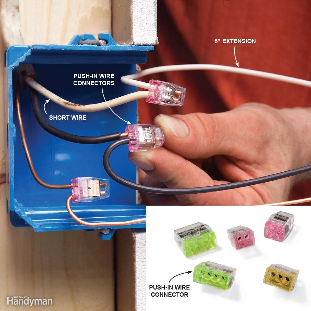 Top 10 Electrical Mistakes. Electrical ProjectsHome Electrical WiringAdd ExtensionHardware ... : how to extend electrical wiring - yogabreezes.com