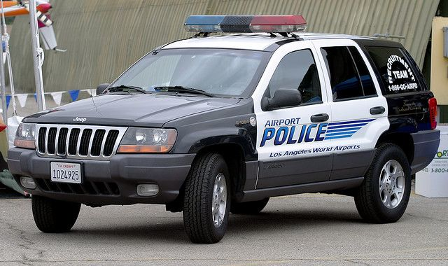 Jeep Grand Cherokee Used By The Los Angeles Airport Police Van