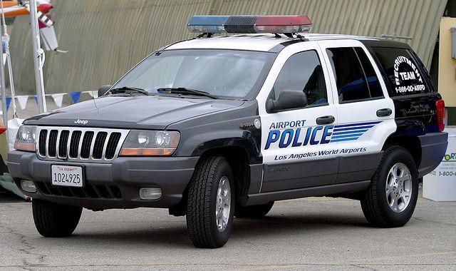 Jeep Grand Cherokee Used By The Los Angeles Airport Police Van