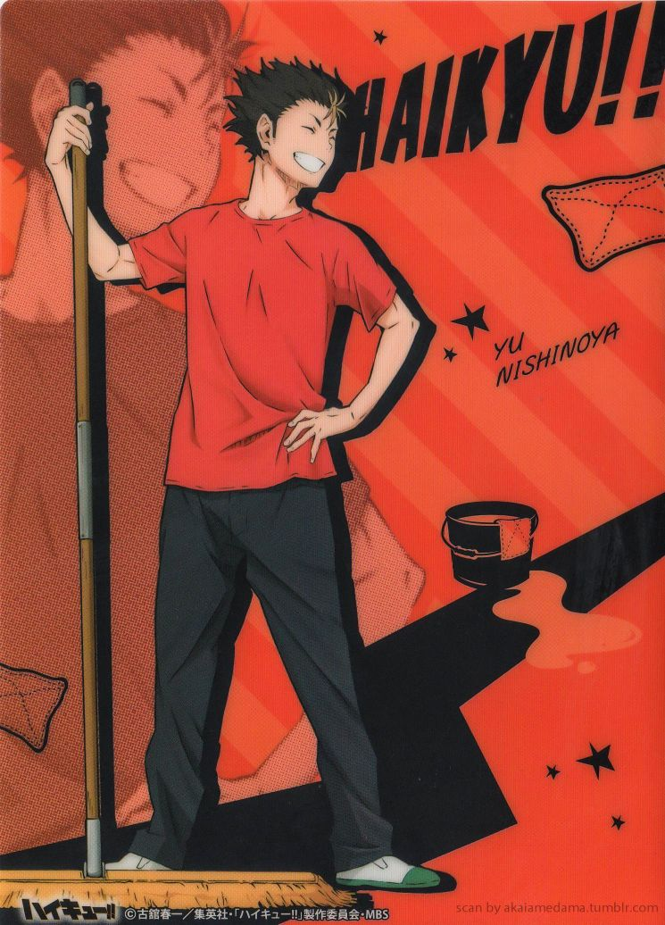 Haikyuu!! Cleaning!! ヾ(。◕ฺ∀◕ฺ)ノScanned the latest clear files again! Part 1 | 2