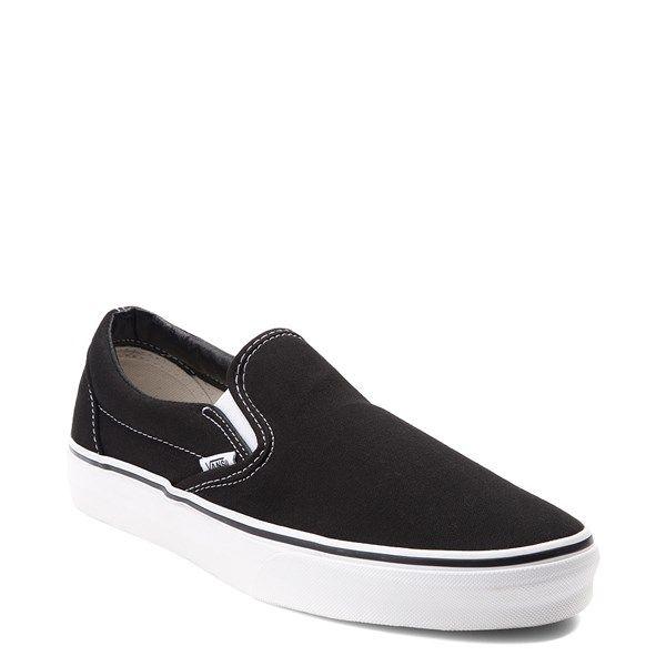 Vans Slip On Skate Shoe - Black in 2020