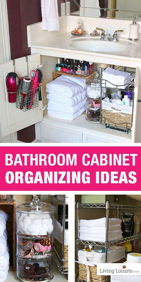 Photo of Schnelle Organisationsideen für Ihr Badezimmer! Easy Cabinet Badezimmer Organisation Mak …