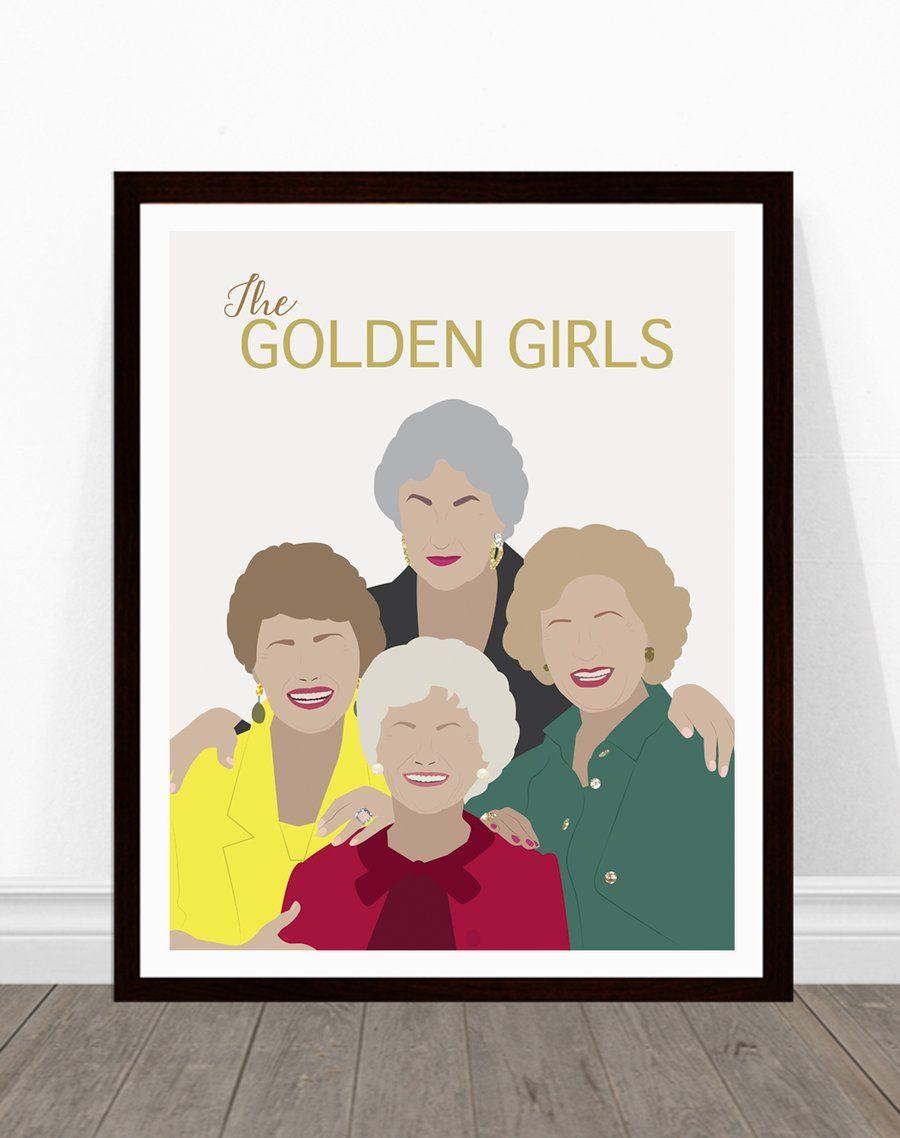 golden girls poster girl posters