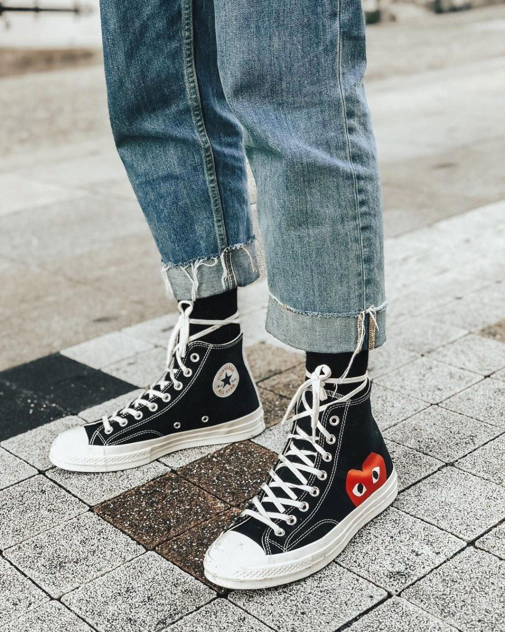 extra wide high top sneakers
