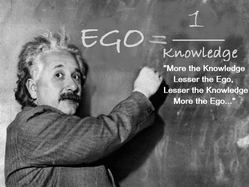 Einstein on the ego