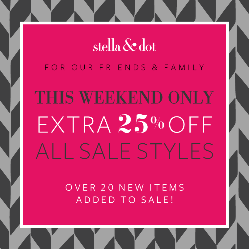 BLACK FRIDAY JEWELRY SALES! Shop www.stelladot.com/beckylogan