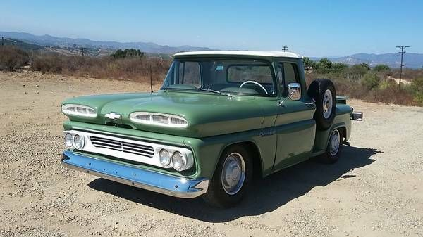 1960 Chevrolet Apache Stepside Truck Chevrolet Apache Chevrolet