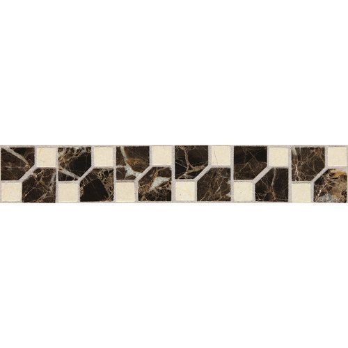Decorative Accent Tile Delectable Master Bath Wall Accent Tile Daltile Fashion Accents Jewel Dark Decorating Inspiration