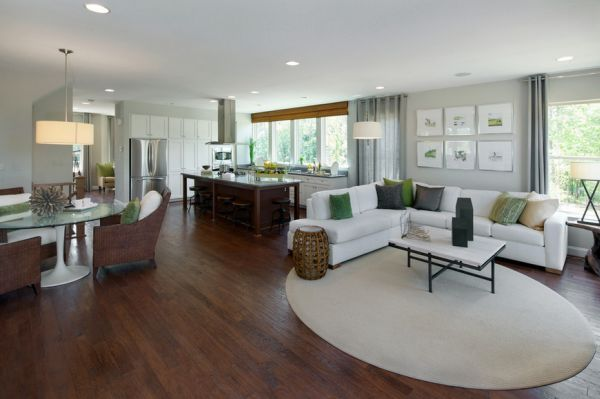 What You Should Know Before Choosing An Open Floor Plan For Your Home Open Floor House Plans Open Concept Living Room Floor Plan Design